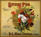 Sweet Pea label