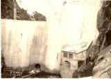 Balch Dam Downstream face