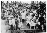 Photograph of fiesta crowd in Placentia