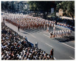 Pasadena Tournament of Roses Parade--Arcadia High School Apache Marching Band, 1981