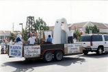Photograph of Heritage Day parade float