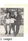 Bill Henry with Senator John F. Kennedy