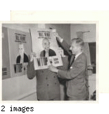 Bill Henry with Joseph C. Harsch, WTOP