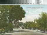 University Avenue from Hale Street, Palo Alto, Cal.