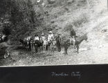Mountain Party, about 1890