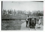 Upland Photograph Agriculture--non-Citrus; Fruit drying in Ontario Colony / E. C. Craig