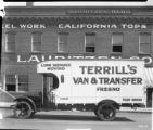 Terrill's Van and Transfer vehicle