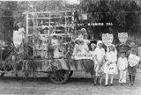 The Community Health Center float in the Armistice Day parade in downtown Banning, California