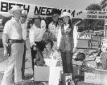 Grand Marshal candidate Beth Needham holds rummage sale