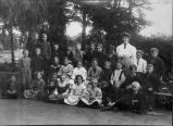 Photograph of pupils of Placentia Grammar School.
