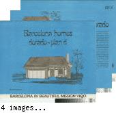 [Barcelona Homes, Dorado, plan D floor plan and exterior renderings brochure].
