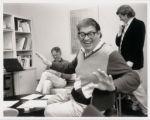 Photograph of Morton Feldman, composer