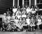 Grade 1 to 8 Class of 1949 Murray School (c. 1949), photograph