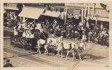 Cawston Ostrich Farm Float, Tournament of Roses Parade, ca. 1900