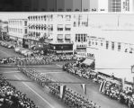 Parade at 19th Street and Chester Avenue