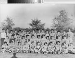 Group photograph of Yuba City High School Junior Varsity Football Team