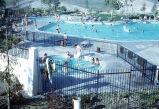 [Sierra Recreation Center swimming pool and spa slide].