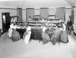 Photograph of biology class at Mills College