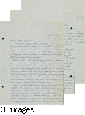 Letter from George Ohno to [Afton] Nance, 1943 Jan 20