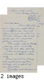Letter from Shigeo Motoike to [Afton] Nance, 1942 Aug 13