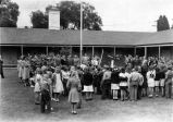 War Rally, Lincoln Park School, South Pasadena, California, 1943