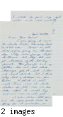 Letter from Mutsuo Hirose to [Afton] Nance, 1942 Apr 28