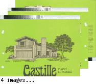 [Castille : Plan 5, El Picasso : floor plan and exterior renderings brochure].