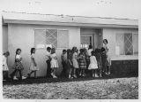 Santa Rosa Valley school class At Park Oaks temporary school
