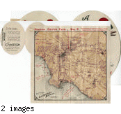 """Cawston Ostrich Farm Brochure and Map, about 1912: """"A Guide to the Oasis of Los Angeles"""""""