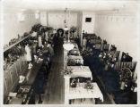 Upland Photograph Business; Interior of Davis Café / Edna Swan
