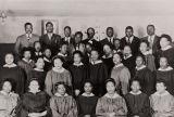 Combined choir of old St. Paul Baptist Church, Oxnard, and Olivet Baptist Church, Ventura : 1946.