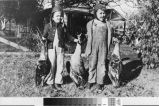 Photograph of Don & Bill Burtis duck hunters