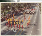 [Mission Viejo High School Marching Band, 1974 photograph].