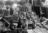 Upland Photograph Agriculture--Citrus; Citrus workers inside packing house / Esther Boulton Black Estate