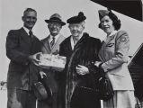 Photograph of R. Carson Smith, Minta Martin and Glenn L. Martin