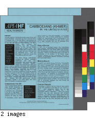 Cambodians (Khmer) in the United States APIA HF health brief