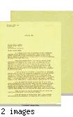 Letter from Remsen Bird to John L. DeWitt, Lieutenant General,  Western Defense Command, April 23, 1942
