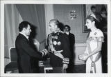 Photograph of  Zubin Mehta  with the Shaw and Empress of Iran