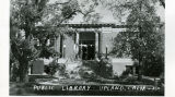 Upland Photograph Carnegie Library