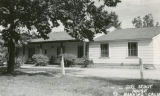 Photographic postcard of the Girl Scout House in Banning, California