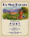 Filippi Winery wine label - La Mas Barata