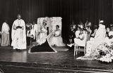 St. Paul A.M.E. Church puts on a play, Santa Barbara : 1950s.