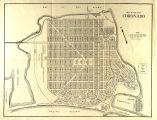 Street map of Coronado, c.1923