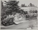 The 1947 Cherry Festival Parade, Women and truck float.