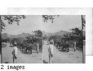 "Open hauling ""cane trash"". St. Andrews Parish - Barbados."