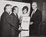 Presentation of 50th anniversary