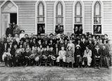 M.E. Church 25th Anniversary congregation