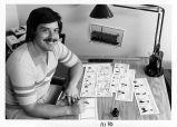 [Kevin Fagan, cartoonist, 1981 photograph].