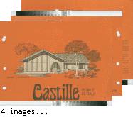 [Castille : Plan 2, El Dali : floor plan and exterior renderings brochure].