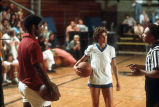 """[Basketball event at """"Challenge of the Sexes,"""" 1976 slide]."""